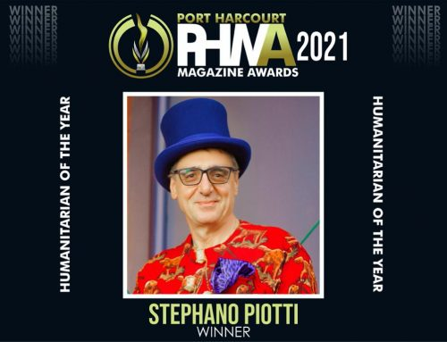 HUMANITARIAN OF THE YEAR AWARD BY PORT HARCOURT MAGAZINE AWARD
